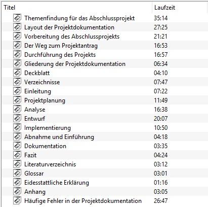 Die Perfekte Projektdokumentation Vorlage Zur Ihk